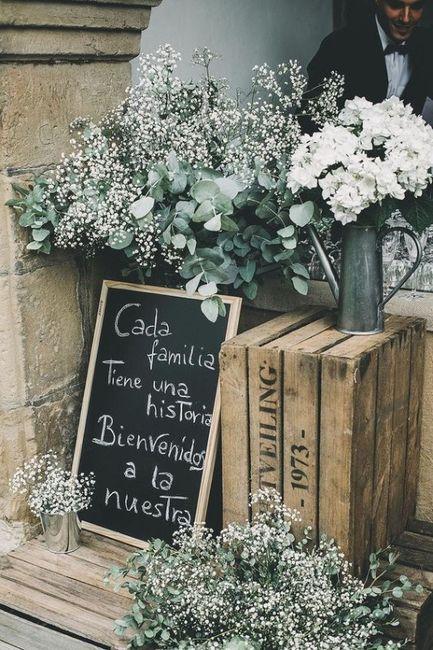 Elige EL CARTEL a 24h de tu boda 💐 2