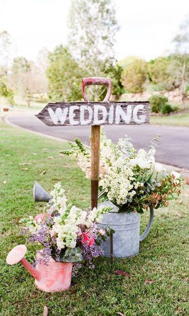 Elige EL CARTEL a 24h de tu boda 💐 3