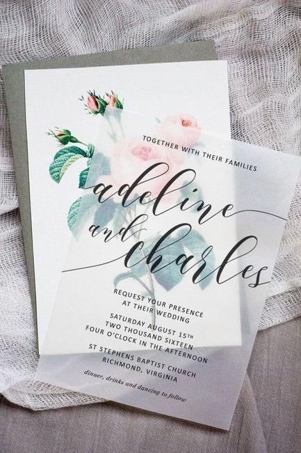 A estas INVITACIONES... ¿les das una oportunidad? 1