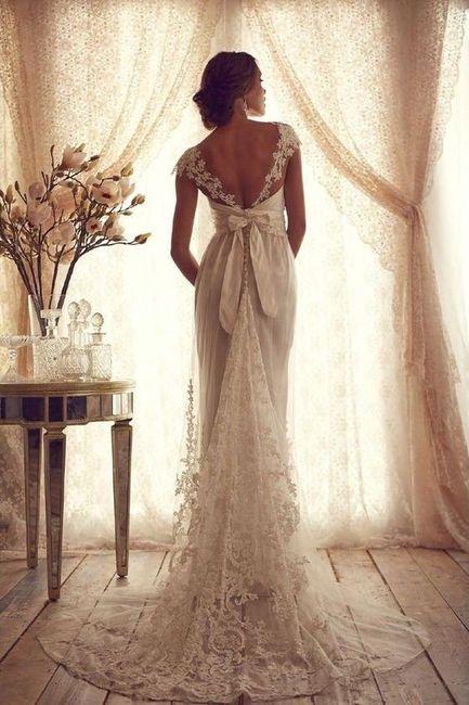 Esta cola de vestido, ¿ahora o nunca? 1