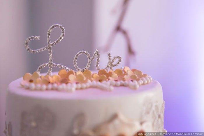¡Me enamora este cake topper! 2