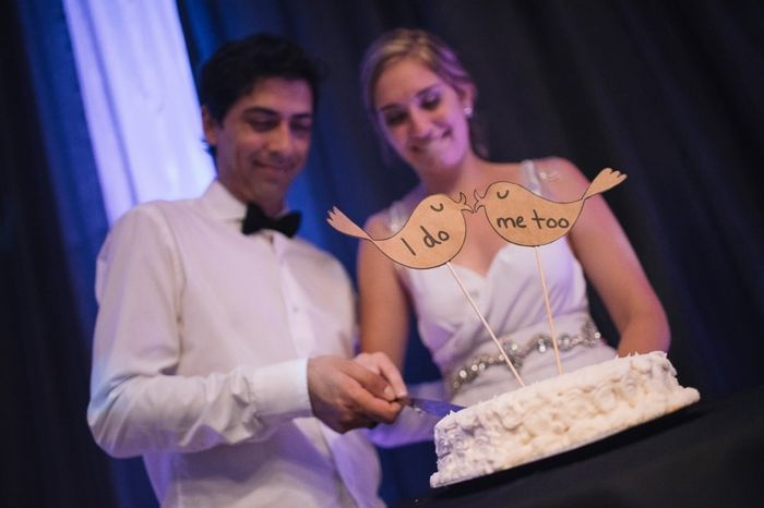 2 bodas, 2 tartas. ¿Cuál prefieres? 1
