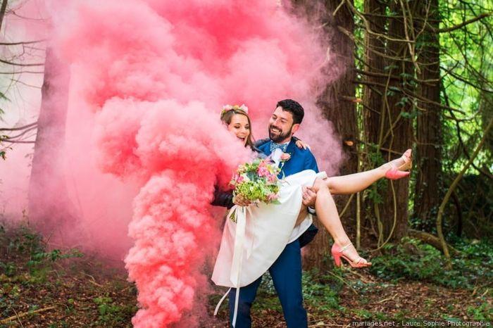 ¡Escribe solo el color de tu boda! 1