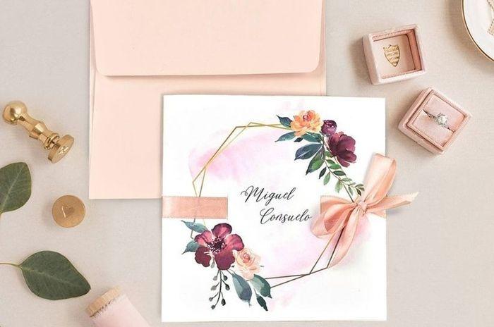 ¿Cómo serán las invitaciones de tu boda? 1