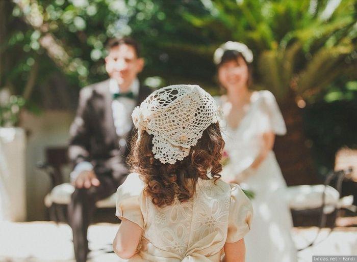 Niños en la boda: ¿a favor o en contra? 1