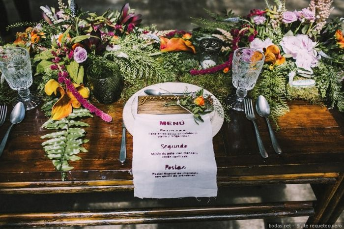 A 24h de la boda, ¡escoge tu minuta! 🍽️ 1