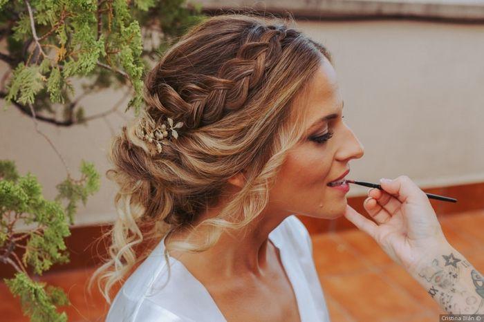 A 24h de la boda, ¡escoge tu peinado! 🌺 1