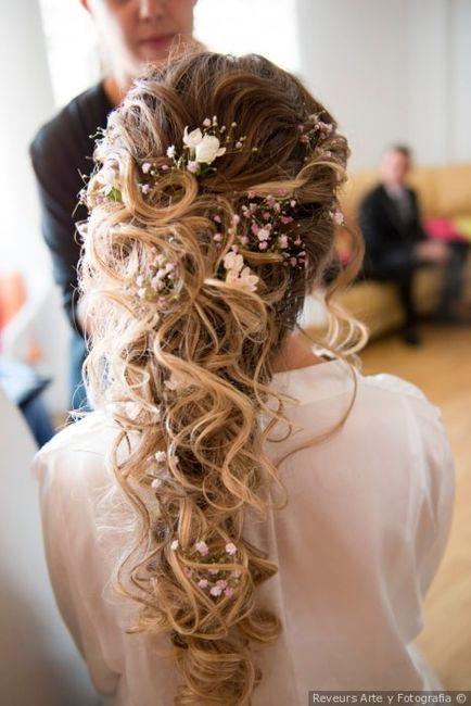 A 24h de la boda, ¡escoge tu peinado! 🌺 3
