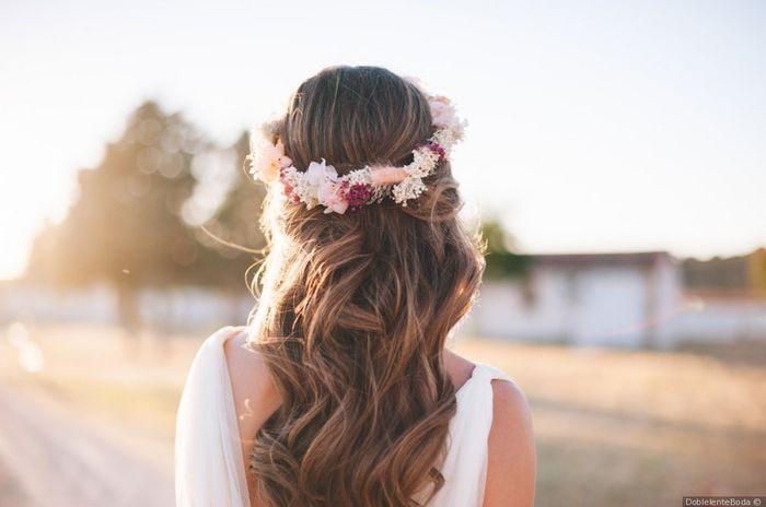 A 24h de la boda, ¡escoge tu peinado! 🌺 2