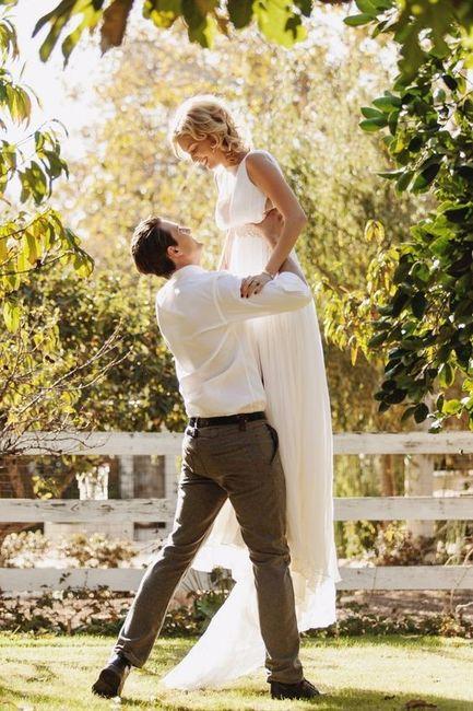 La plus belle photo de couple est... 1