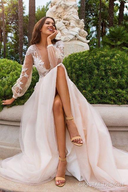 Si hoy fuera mi casamiento, me pondría... ¡Votá! 1