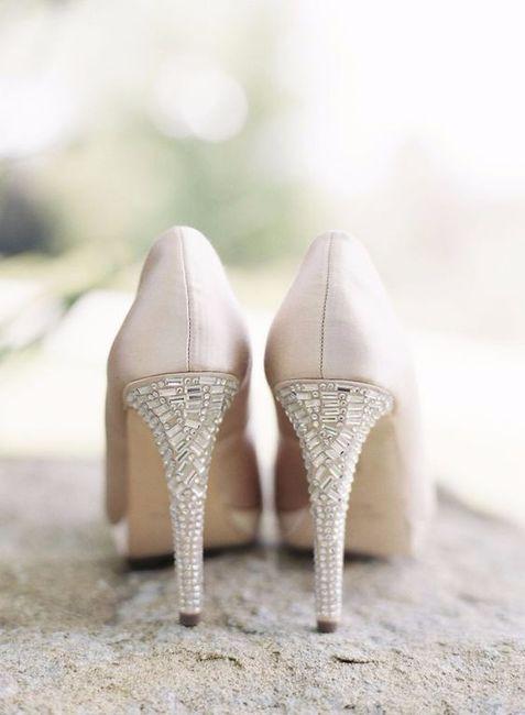cómo son los zapatos de tu boda? - moda nupcial - foro bodas