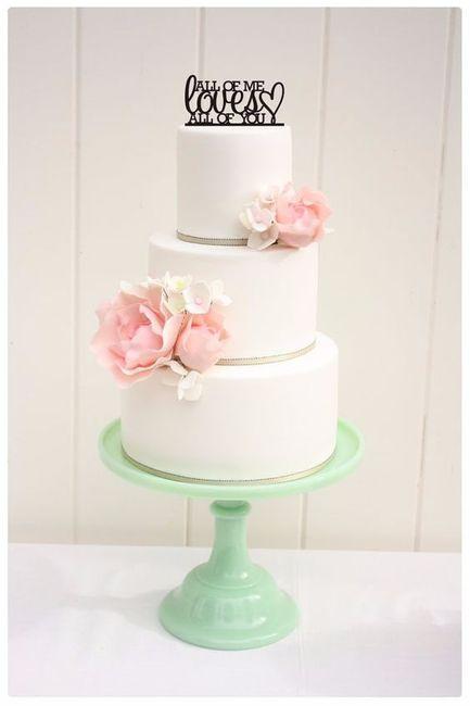 Amoureuse de ces...cake topper ! 1