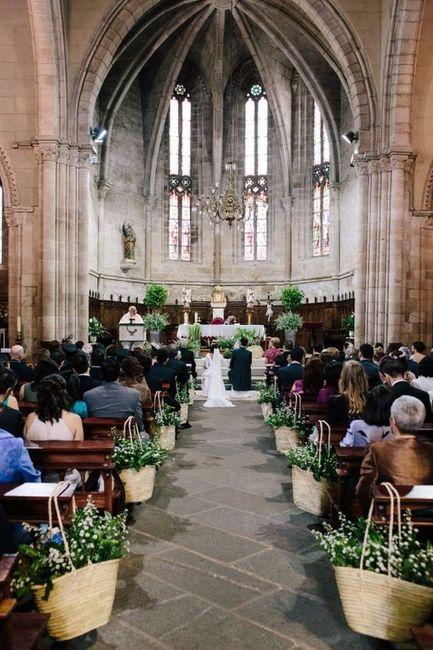 Ceremonia, ¿religiosa o civil? 1
