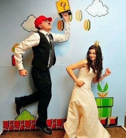 ¿Tendrías una boda temática de Super Mario Bros? 1