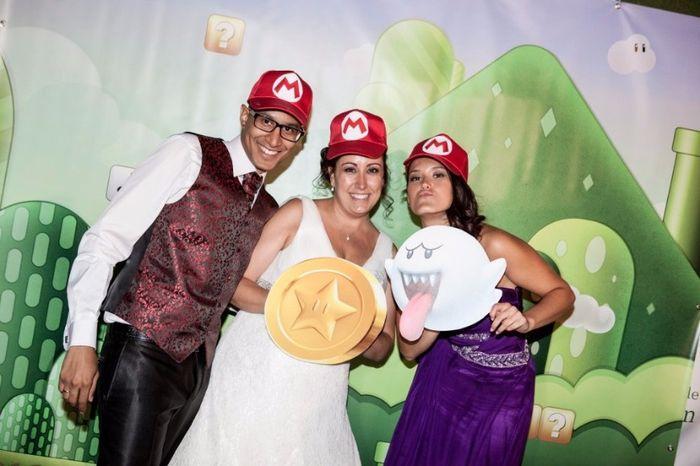 ¿Tendrías una boda temática de Super Mario Bros? 9