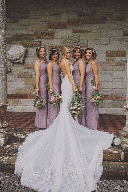 Escribe SÓLO cuántas damas de honor tendrás en tu boda 1
