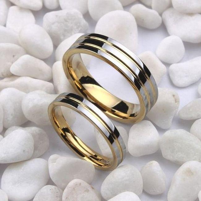 ¿De qué material serán tus alianzas de boda? 1