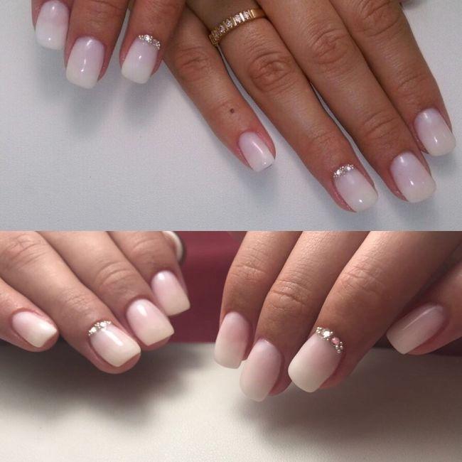 Mis uñas de novia - 1