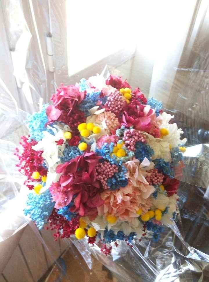 Mi ramo de flores preservadas - 1