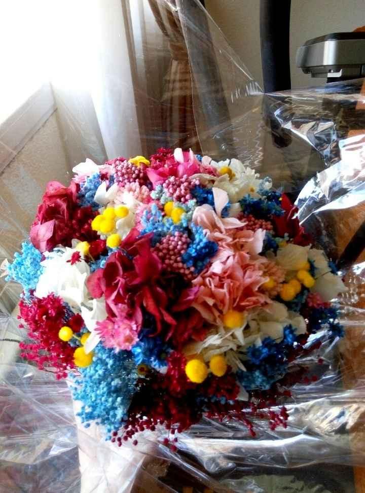 Mi ramo de flores preservadas - 2