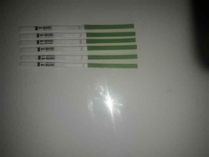 Test de ovulación.