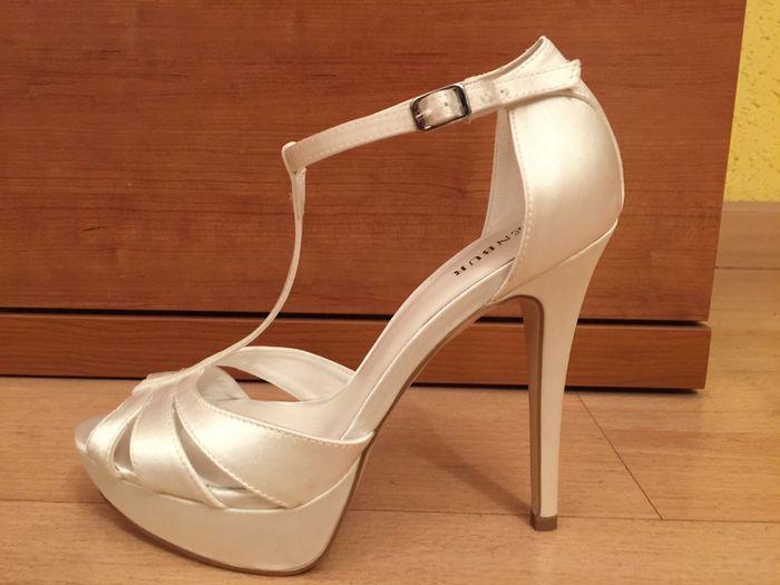 mis zapatos de novia - moda nupcial - foro bodas