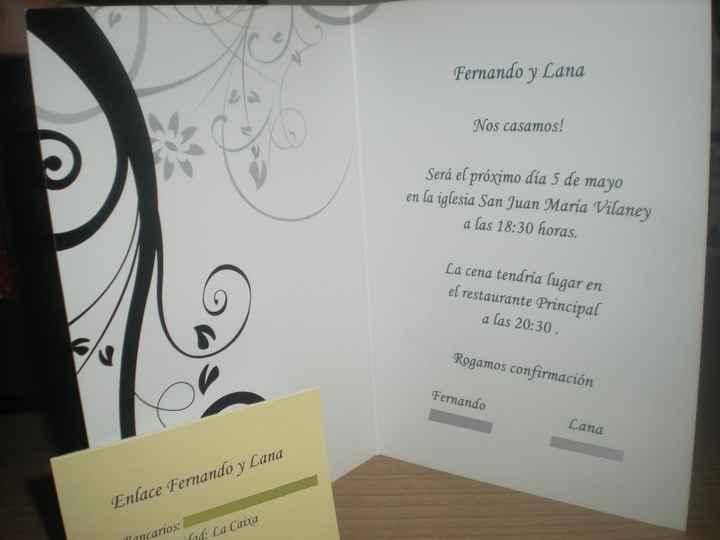 ¡Nuestra boda! 5 de mayo 2012 a la 18y30
