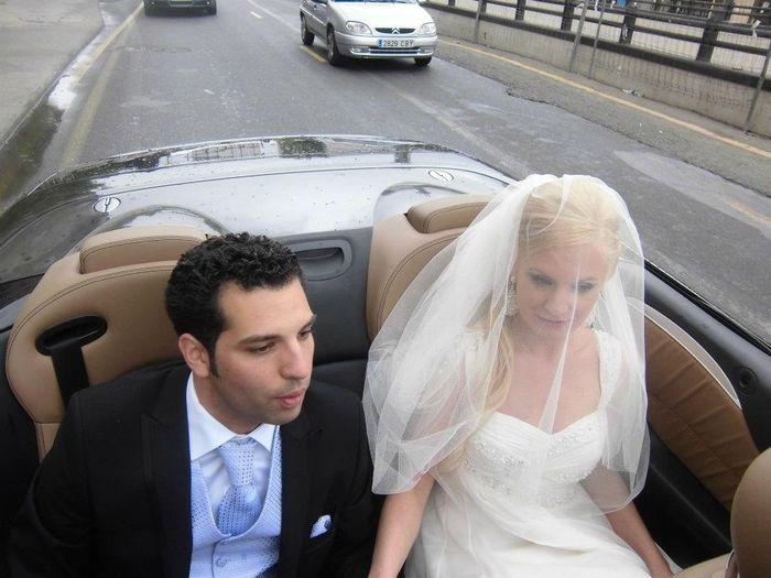 recien casados paseo por granada