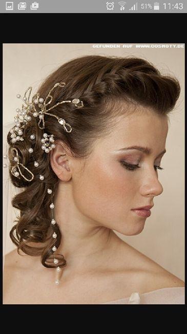 Peinados de novia con media melena
