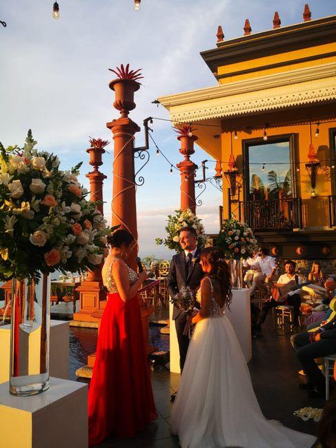 Hace 8 días tuvimos la boda de nuestros sueños 2