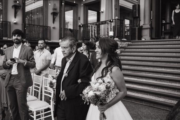Toda la boda me sentí como subida en una nube ¿a alguna más le ha pasado? 3