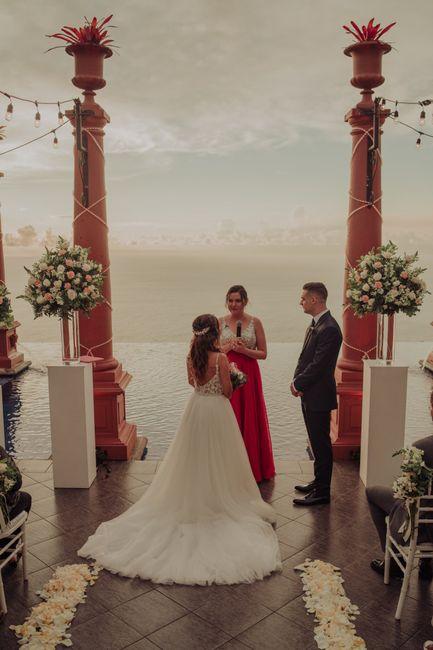 Toda la boda me sentí como subida en una nube ¿a alguna más le ha pasado? 4