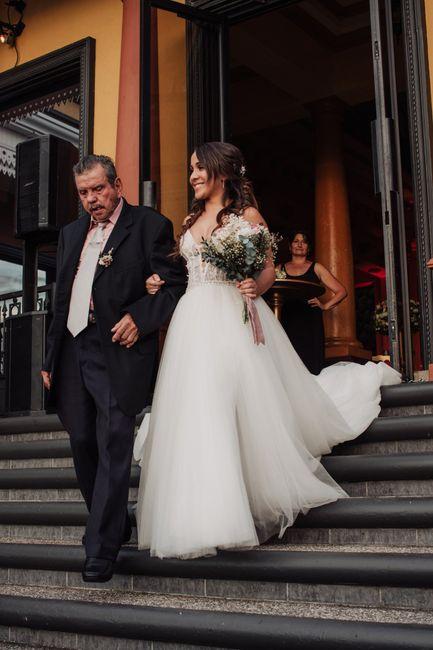 Toda la boda me sentí como subida en una nube ¿a alguna más le ha pasado? 6