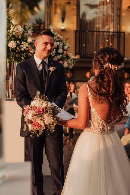 Toda la boda me sentí como subida en una nube ¿a alguna más le ha pasado? 8