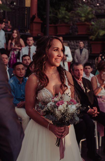 Toda la boda me sentí como subida en una nube ¿a alguna más le ha pasado? 12