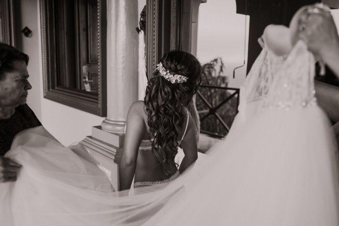 Toda la boda me sentí como subida en una nube ¿a alguna más le ha pasado? 14