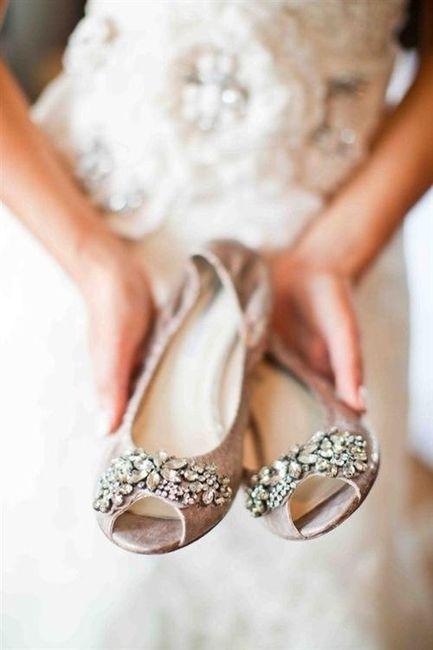 39 zapatos planos para novias - moda nupcial - foro bodas