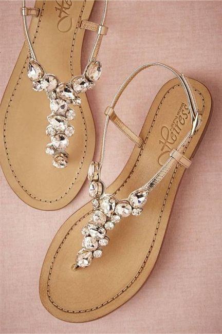 39 zapatos planos para novias - 4
