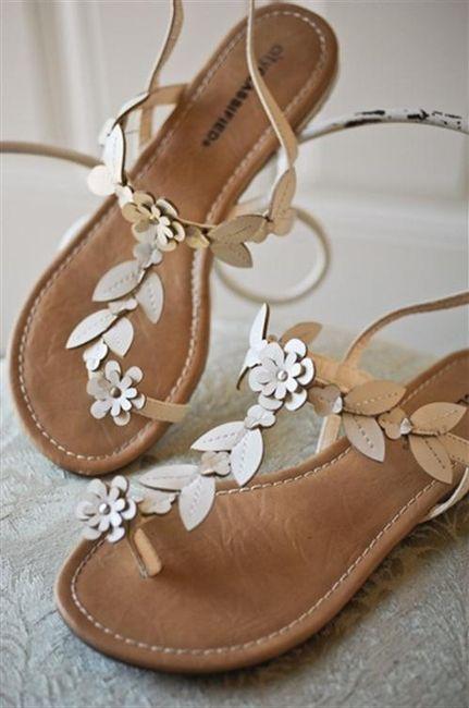 39 zapatos planos para novias - 5
