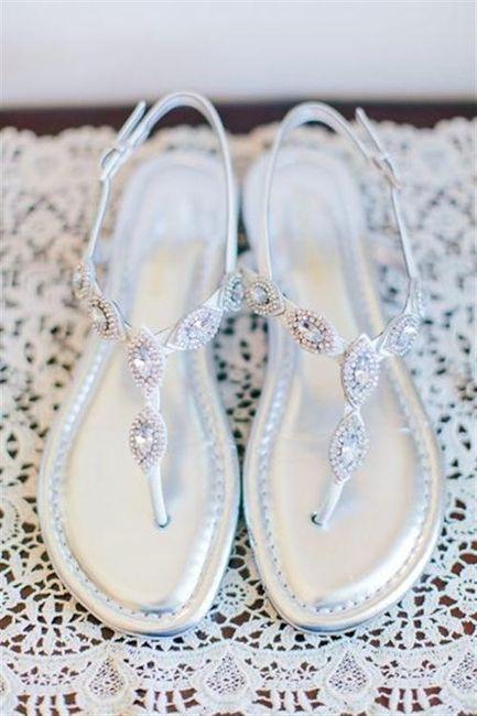 39 zapatos planos para novias - 6