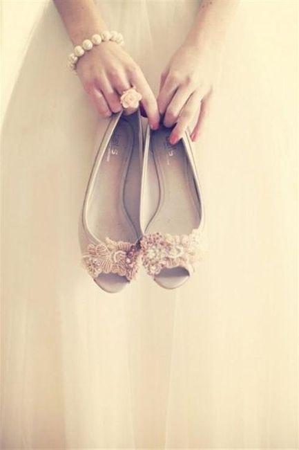 39 zapatos planos para novias - 9