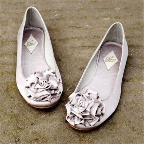 39 zapatos planos para novias - 10