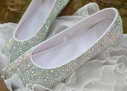 39 zapatos planos para novias - 11