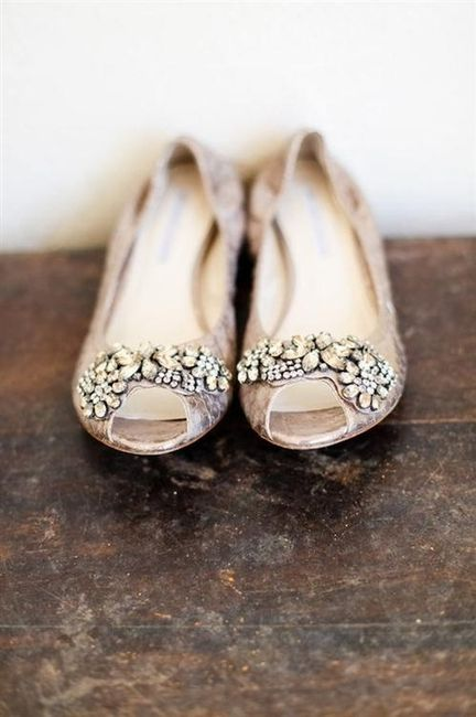 39 zapatos planos para novias - 13
