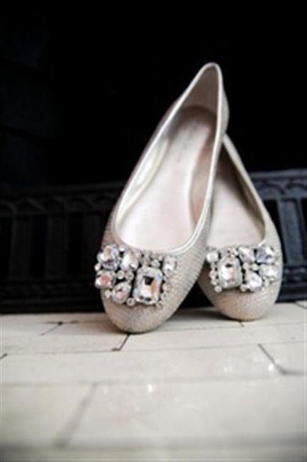 39 zapatos planos para novias - 15