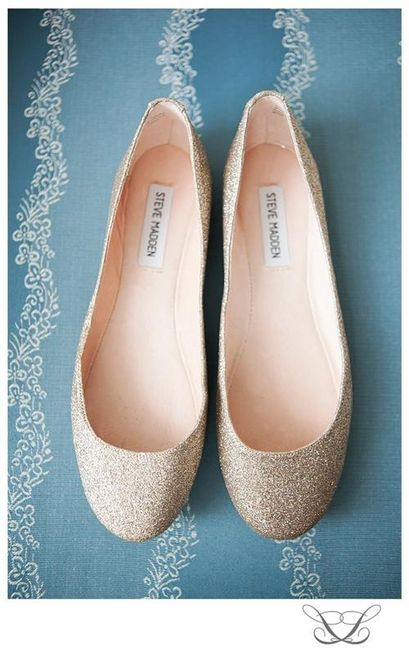 39 zapatos planos para novias - 17