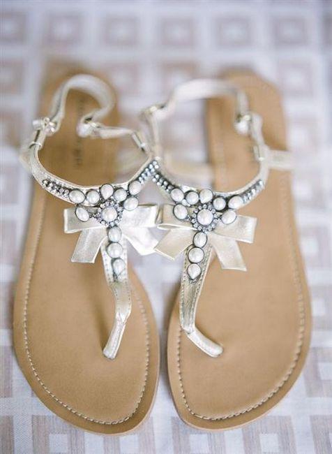 39 zapatos planos para novias - 18