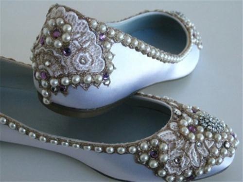 39 zapatos planos para novias - 19