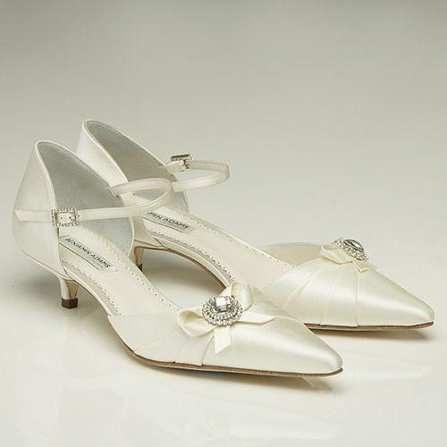 39 zapatos planos para novias - 20